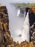 Victoria Falls Arkivfoton