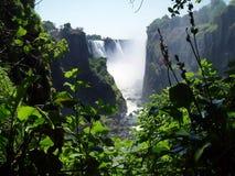 Victoria Falls Imagenes de archivo