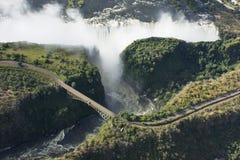 Victoria Falls stockfoto