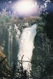 Victoria falls. Zimbabwe africa water Stock Images