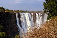 Victoria Falls Стоковые Фотографии RF
