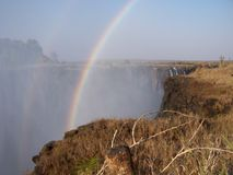 Victoria falls. Africa Royalty Free Stock Image