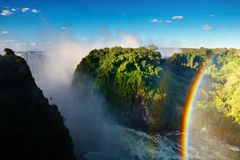 Free Victoria Falls Stock Photography - 9504702
