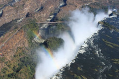 Victoria Falls from Above Stock Photography