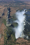 Victoria Falls from Above Royalty Free Stock Photography