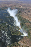 Victoria Falls from Above Stock Photos