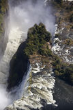 Victoria Falls - Aerial view Stock Image