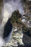 Victoria Falls - Aerial view Stock Image