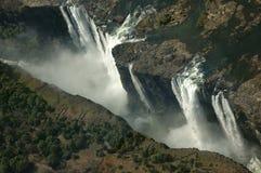 Victoria Falls, Africa - Aerial  Stock Image