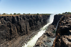 Victoria Falls, Africa Royalty Free Stock Photos