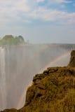 Victoria Falls au Zimbabwe. Image stock