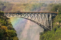 Victoria Falls Bridge fotografía de archivo libre de regalías