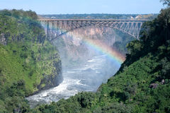 Victoria Falls Bridge Royalty Free Stock Photography