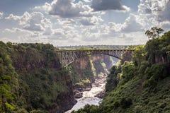 Victoria Falls Bridge Royalty Free Stock Photo