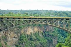 Victoria Falls Bridge - Zambia/Zimbabwe Royalty Free Stock Image