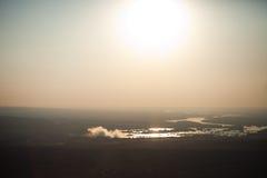 Victoria Falls del aire Imagen de archivo