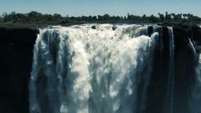 Victoria Falls Detail archivi video