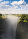 Victoria Falls Devils Cataract Stock Photos