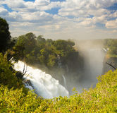 Victoria Falls Devils Cataract Royalty Free Stock Images