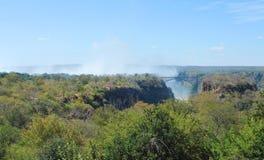Victoria Falls Royalty Free Stock Photo