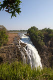 Victoria Falls Drop, South Africa - November 2013 Royalty Free Stock Photos