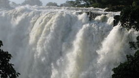 Victoria Falls eastern cataract Stock Images
