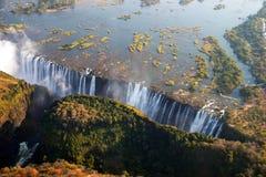 Victoria Falls en Botswana, África Imagen de archivo libre de regalías