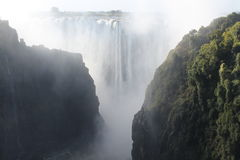 Victoria Falls 3. Everytime I see this picture I am just speechless of the Beauty and Power of the Victoria Falls royalty free stock photos