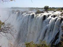 Victoria Falls Arkivbild