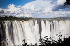 Victoria Falls Frontal Shot Fotografie Stock