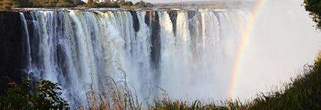 Victoria Falls i Botswana, Afrika Royaltyfri Bild