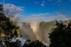 Victoria Falls Rainbow Stock Photos