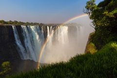 Victoria Falls Royalty Free Stock Photography