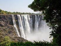 Victoria Falls S.Africa - 11/2013 Royaltyfri Bild