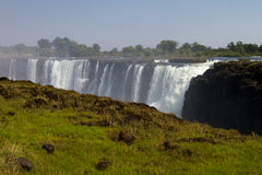 Victoria Falls Tip, South Africa - November 2013 Royalty Free Stock Photography