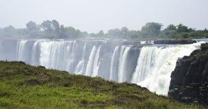 Victoria Falls. In Zimbabwe, Africa stock image