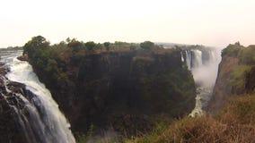 Victoria Falls View Zimbabwe - video lager videofilmer