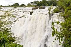 Victoria Falls, Zambesi River and Fall, Zambia stock image