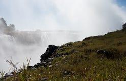 Victoria Falls on Zambezi River Royalty Free Stock Photos