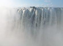 Victoria Falls on Zambezi River Stock Images