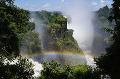 Victoria Falls 2 Royalty Free Stock Image