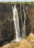 Victoria Falls Zambia Royalty Free Stock Photography