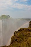 Victoria Falls in Zimbabwe. Stock Image