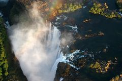 Victoria Falls Zimbabwe Royalty Free Stock Photos