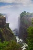 Victoria Falls Zimbabwe arkivfoto