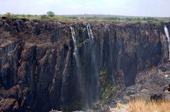 Victoria Falls Zimbabwe Arkivbild