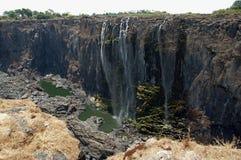 Victoria Falls Zimbabwe Royaltyfri Fotografi