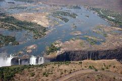 Victoria Falls Zimbabwe Royaltyfri Foto
