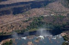 Victoria Falls Zimbabwe Arkivbilder