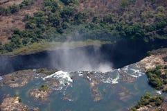 Victoria Falls Zimbabwe Royaltyfri Bild
